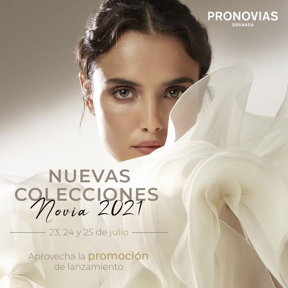 Nuevas colecciones Pronovias Novia 2021